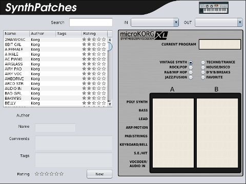 Guitar Effect Patches For The Korg Ax3000g Settings Yahoo