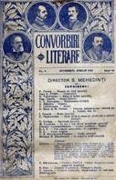 """""""Convorbiri literare"""""""