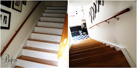 Doubly Happy Stair At This   Flor Carpet Tiles For Stairs   Diy Stair   Carpet Runners   Patterned Carpet   Area Rugs   Floor Tiles