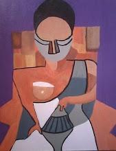 Mujer de abanico