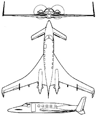 nhungdoicanh: Beech 2000 Starship