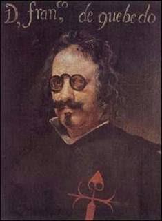 Don Francisco de Quevedo y Villegas (1580-1645), en retrato de Velázquez