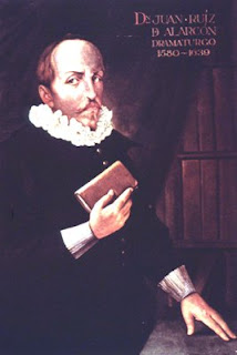 Juan Ruiz de Alarcón (1581, Taxco, México-1639, Madrid)