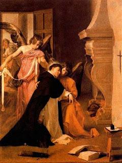 La Tentación de Santo Tomás de Aquino (1632/1633) de Velázquez (Museo Diocesano de Orihuela)