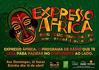 expresso áfrica na rádio ufmg