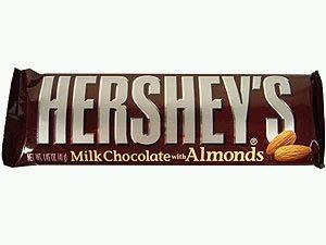 Hersheys Almond Bar hershey bar - picture ...