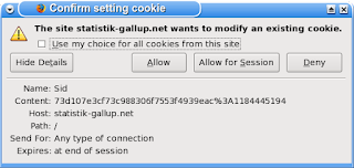 Gallup Cookie