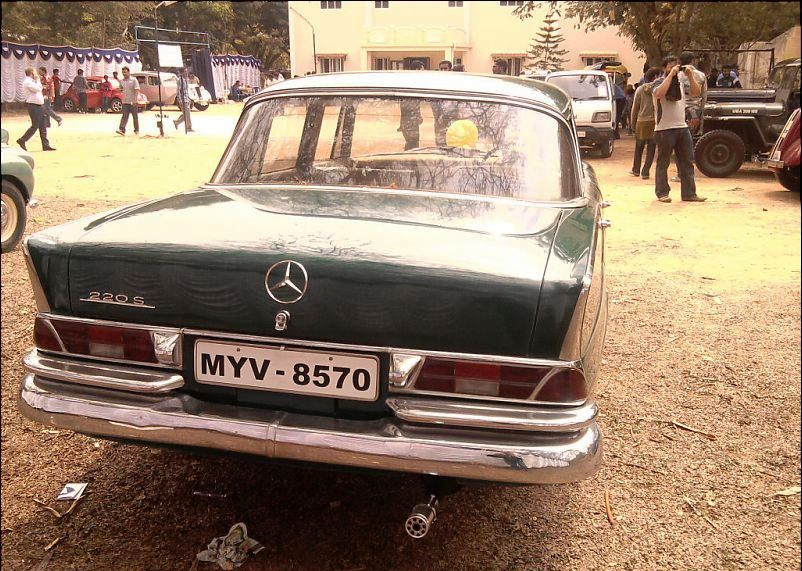 In Search Of A Greener Tomorrow: Vintage Car Rally In