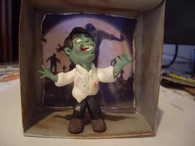 Spirit Clay Polymer Clay Zombie