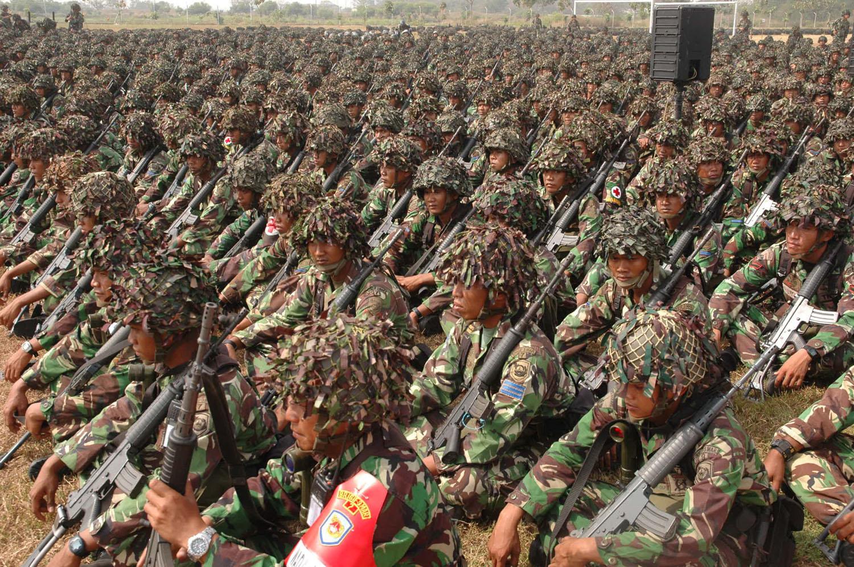 militer indonesia tni gambar kekuatan wajib military indonesian dunia strategi negara prajurit perang army tentara pertahanan keamanan ribuan bela papua