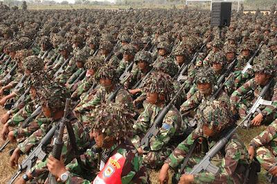 WARNA KEHIDUPAN Koleksi Gambar Kekuatan Militer INdonesia