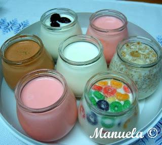 Fazer iogurtes de leite de aveia na iogurteira