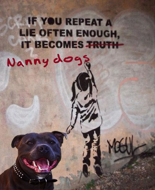 The TRUTH About Pit Bulls: The Nanny Dog Myth Revealed