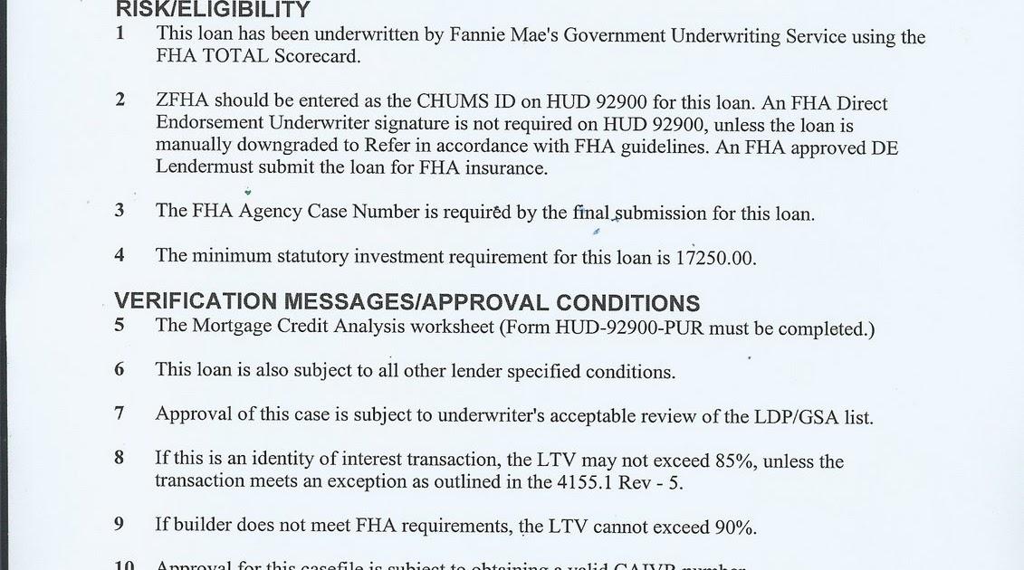 The Whistle Blower: FNMA Underwriting Sham 2: Subprime FHA Loans