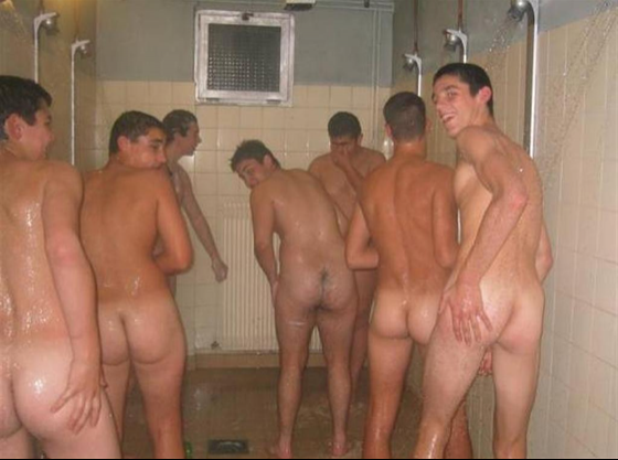Locker Room Naked Male