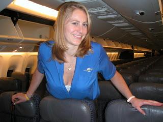 cheap flight tickets from beautiful flight attendant