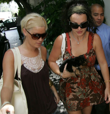 britney is suspected having lesbian relation with shannon funk her assistant