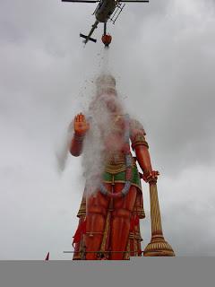 abhishekam to hanuman