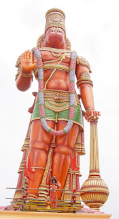 hanuman idol 85 feet high