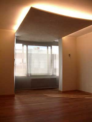 Lampara de techo iluminaci n indirecta - Luz indirecta escayola ...