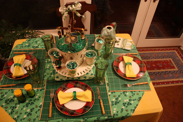 2009 St. Patrick's Day Table