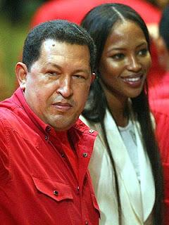 Naomi Campdell fijará su residencia en Venezuela