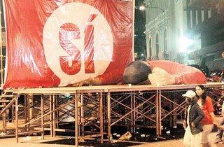 Chávez y el chavismo va en picada