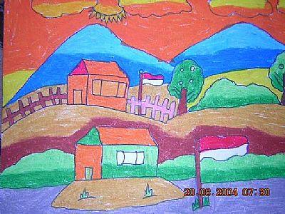 68 Koleksi Gambar Animasi Rumah Dan Taman HD
