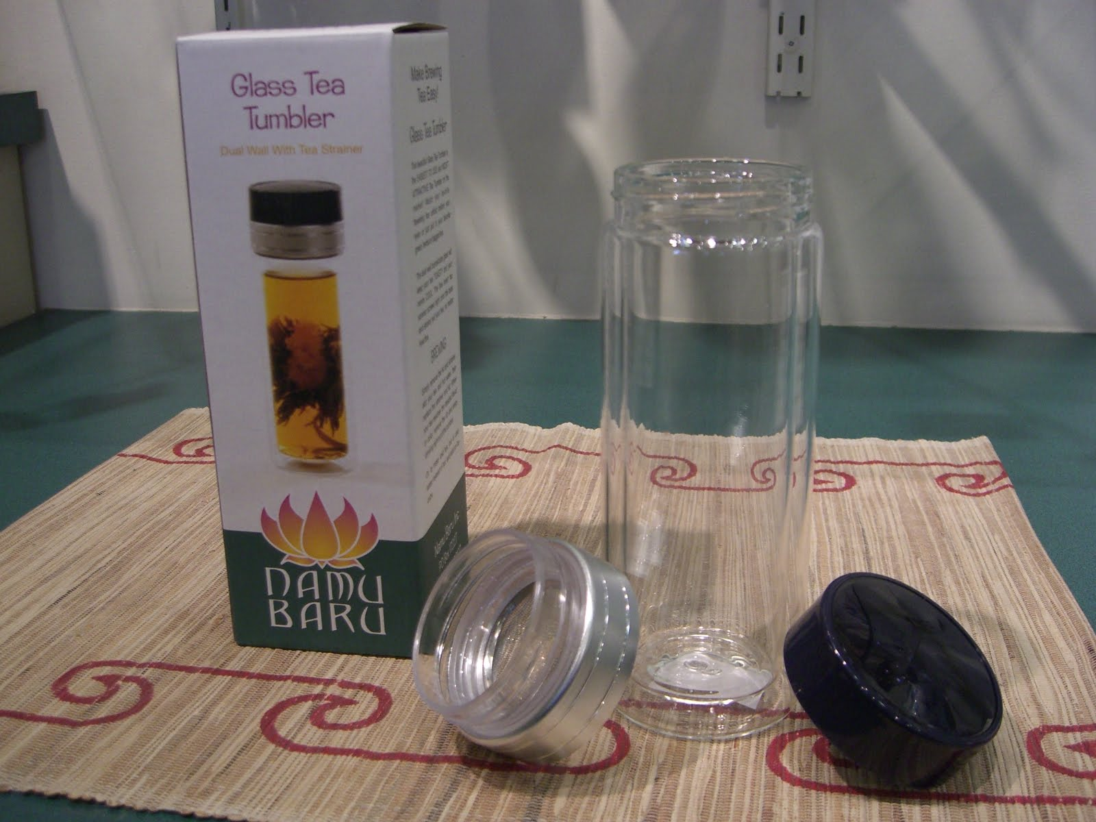 The Perennial Tea Room New Glass Tea Tumbler