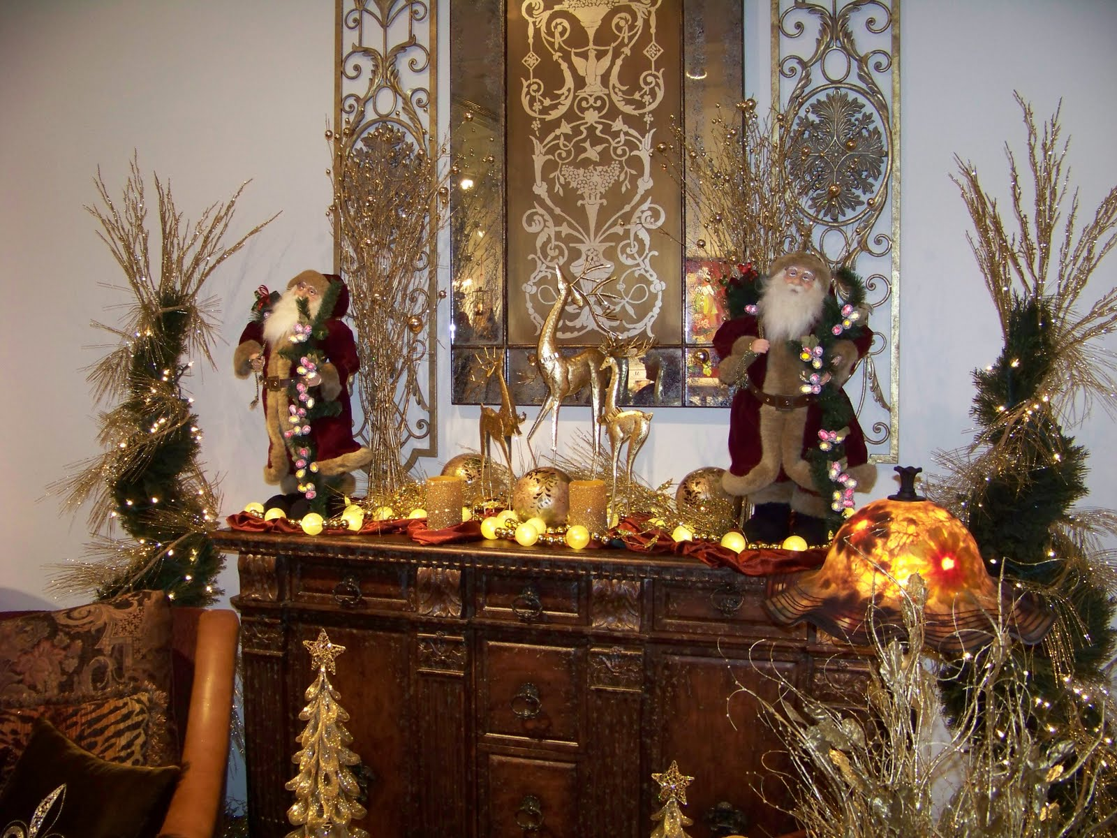 Holiday Tables  Thanksgiving amp a Christmas Sideboard. 1600 x 1200.Nice Happy New Year Text Messages