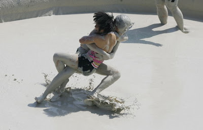 Women S Mud Wrestling Competition