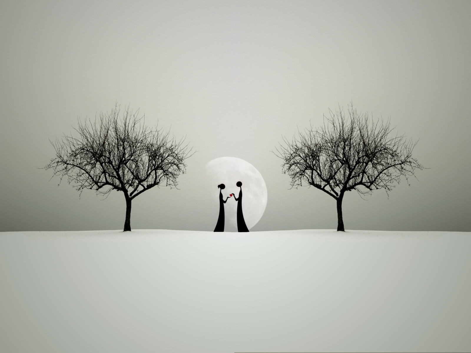 Say I Love You Between Tree Quotes Wallpapers