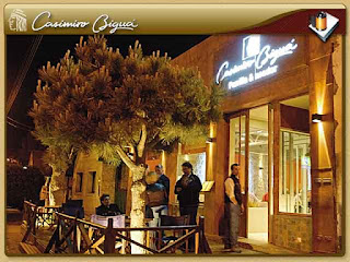 Restaurante El Calafate Casimiro Bigua