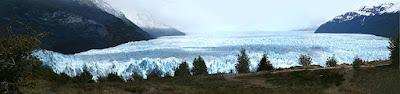 Panoramica geleira Perito Moreno
