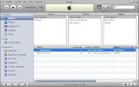 Schermata di iTunes