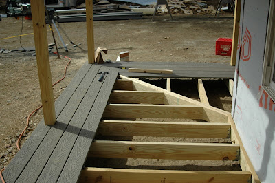 Building a Small House in Maine: Porch Floor