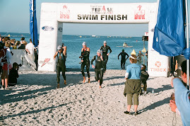 Clearwater Swim Finish 2008