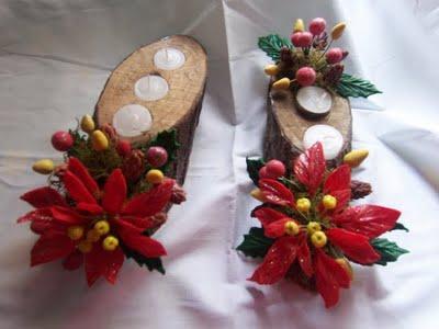 Fieltro y Tela: adornos de navidad