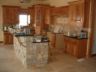 How To Refinish Natural Pecan Kitchen Cabinets