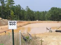 New Mud Bog course at Carolina Adventure World