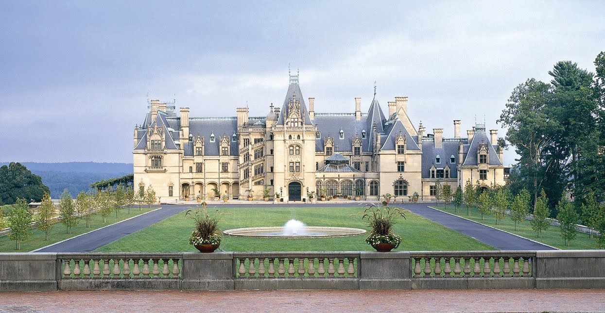 Biltmore Estate - North Carolina (Their house is bigger than yours)