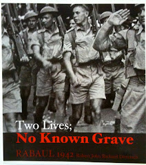 Two Lives, No Known Grave Rabaul 1942