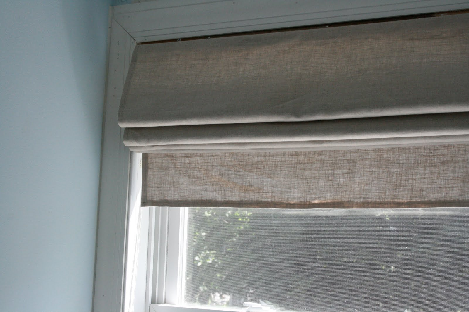 Diy Roman Shades Easy Little And Lovely Diy Roman Shades