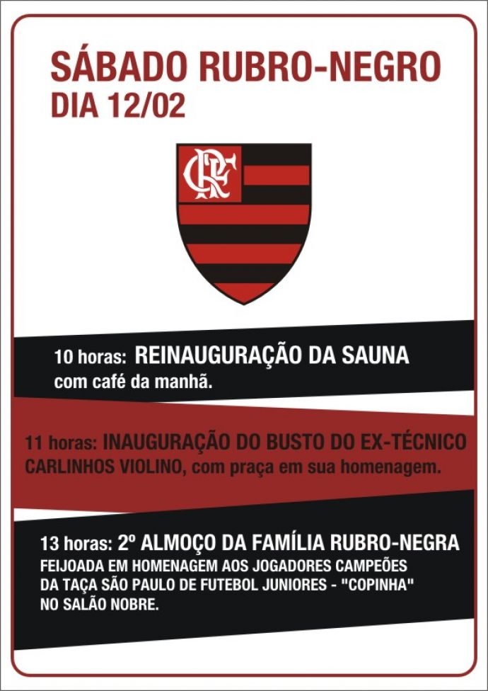Flamengo vai inaugurar a