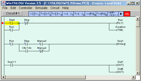 simulator software -wintrilogi