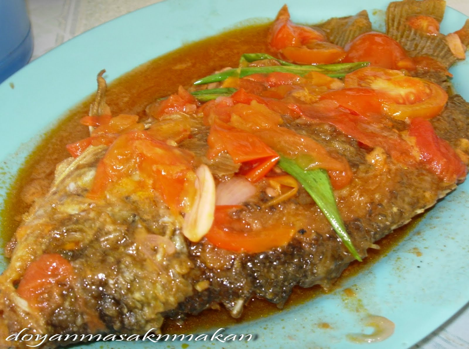 a Collection of Recipes: Gurame Asam Manis