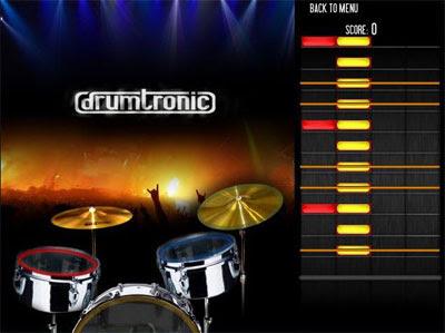 Aprende a tocar la batería con Drumtronic
