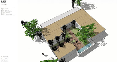 Plan De Maison Avec Patio. Awesome Maison Moderne Patio Pationata ...