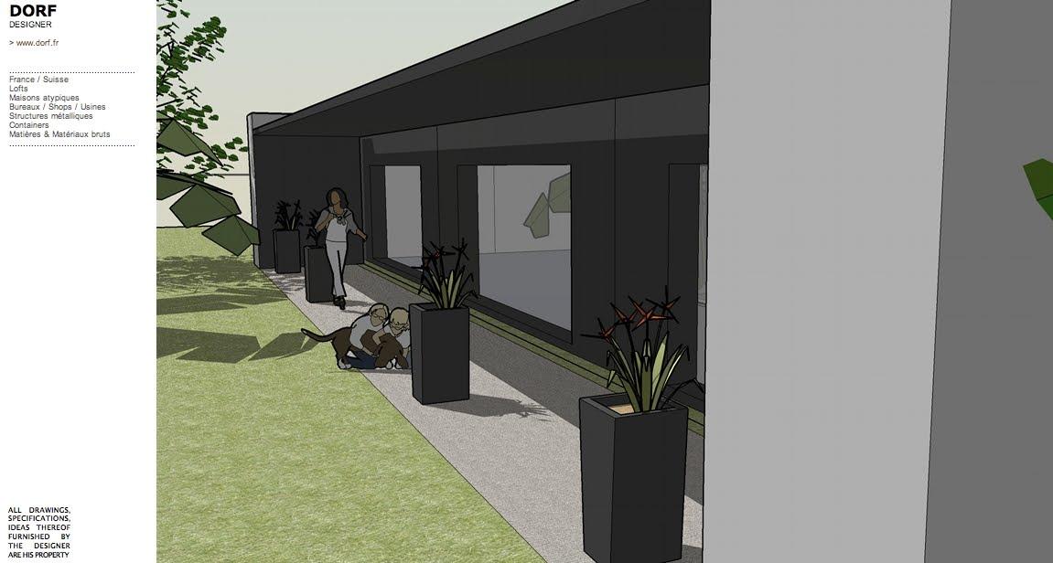 Plan De Maison Avec Patio Interieur. Awesome Plan Maison Plan Maison ...