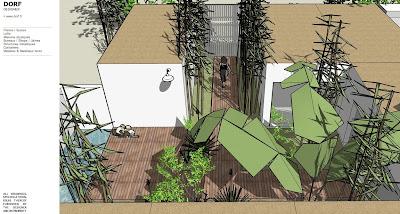 plan de maison avec patio. Black Bedroom Furniture Sets. Home Design Ideas